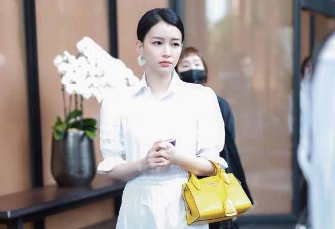 孙怡结婚后成阔太!拎10万元包包露面,穿垫肩背心